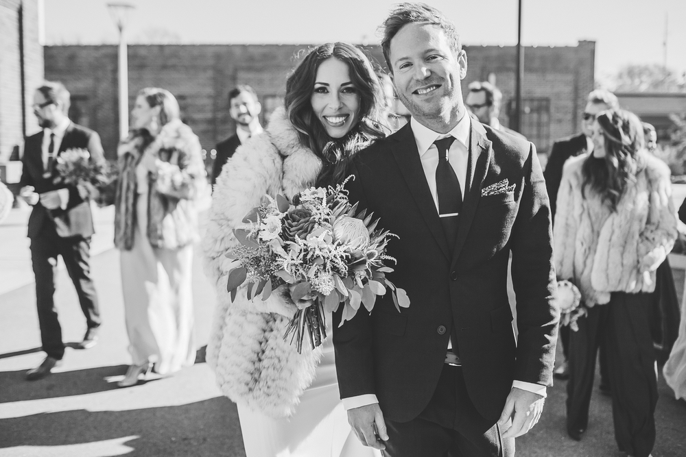 Kneale_Wedding_Fur_b&w