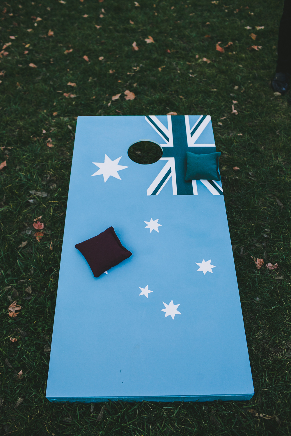Kneale_Wedding_Cornhole_Australia_Flag