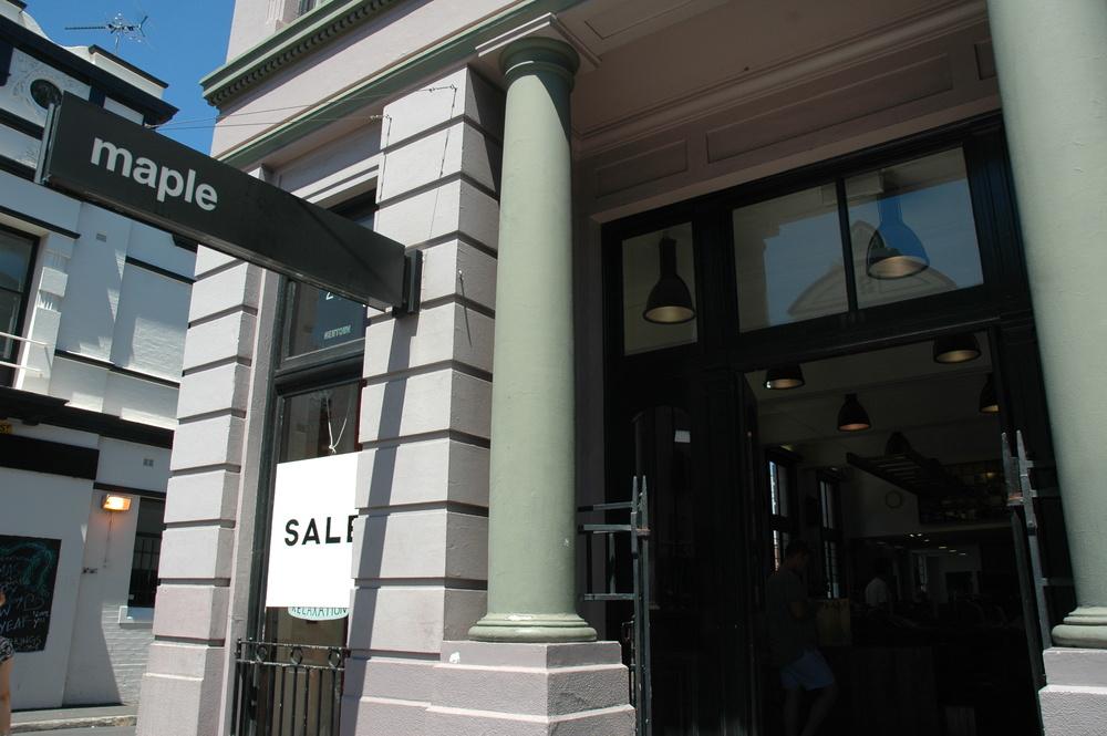 Maple - Shopping in Sydney Australia