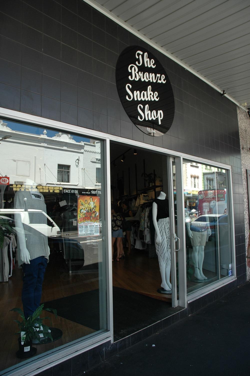 The Bronze Snake Shop - Shopping in Sydney Australia