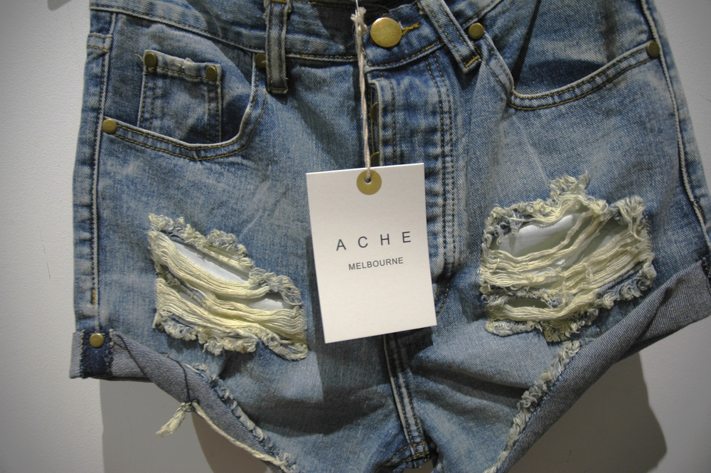 The Bronze Snake Shop - Acme jean shorts
