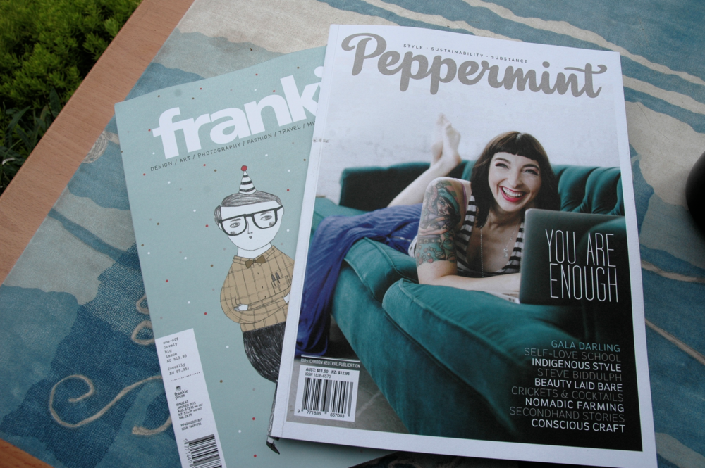Frankie and Peppermint Magazines