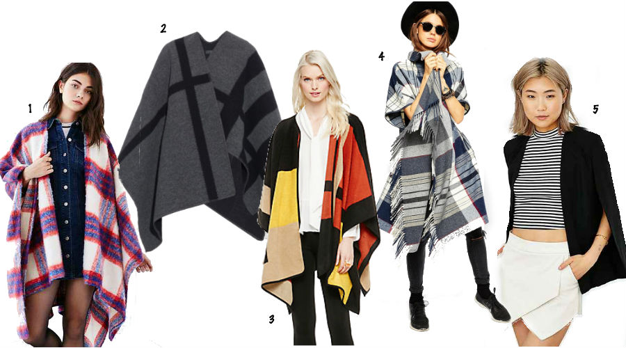 1. Urban Outfitters 2. Burberry 3. Vince Camuto 4. ASOS 5. BB Dakota