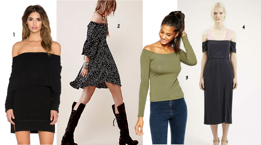 1. Revolve Clothing 2. Free People 3. ASOS 4. Topshop