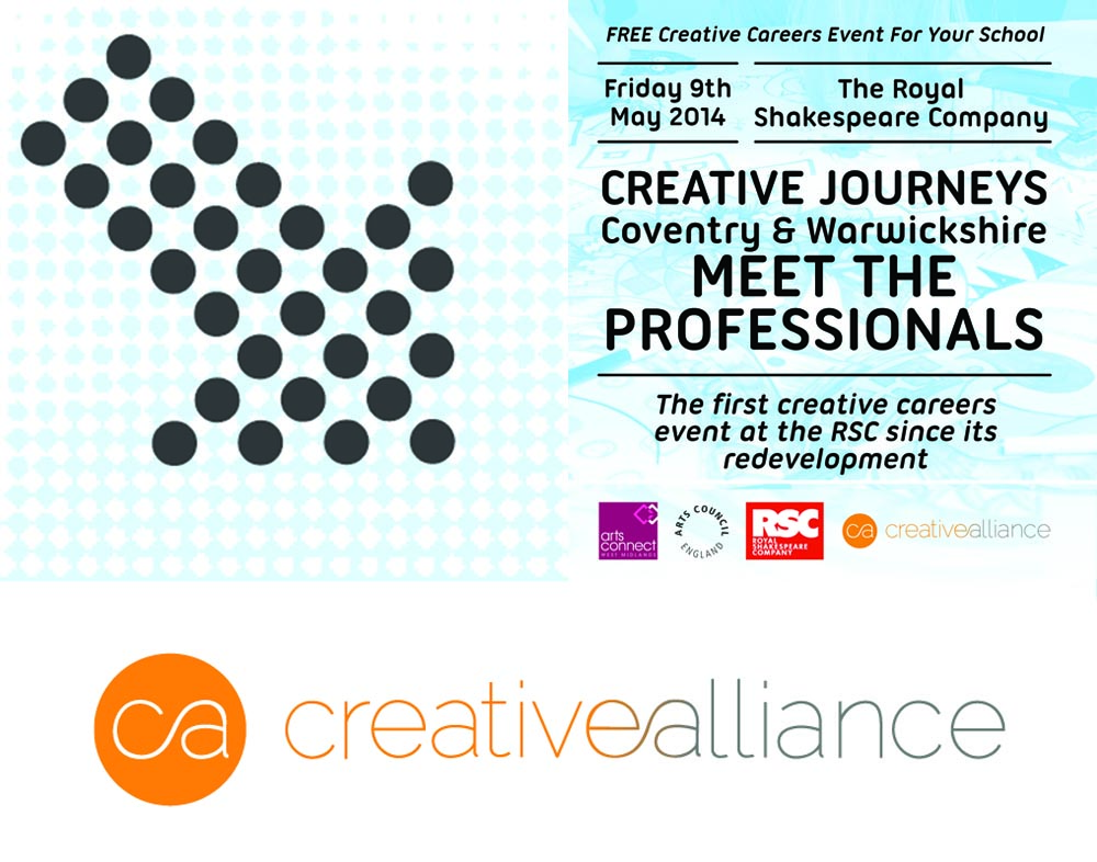 Creative Alliance   Event Coordinator for 'Creative Journeys Coventry & Warwickshire'   May 9th 2014