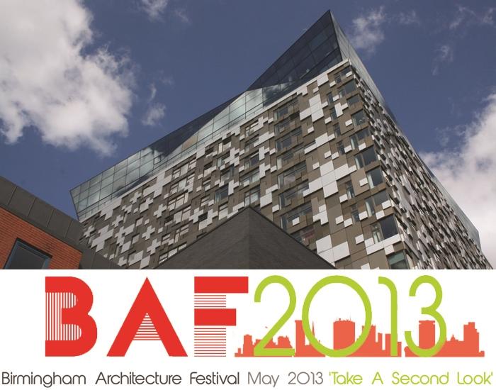 Birmingham Architecture Festival 2013 Festival Coordinator January 2013- December 2013