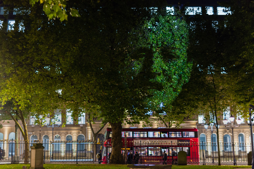 Tony Oursler: The Influence Machine at Cathedral Grounds Project Manager  July - September 2017