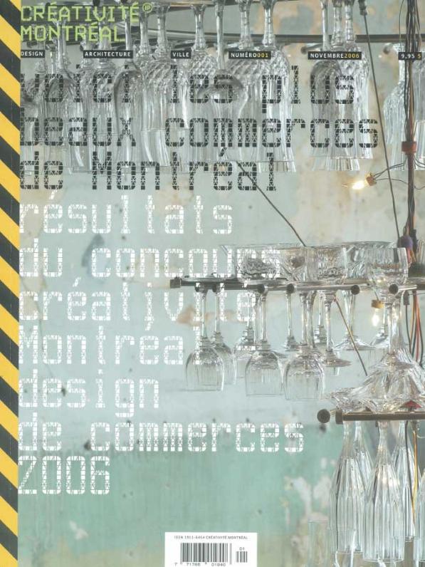 Créativité Montréal - Nov 2006