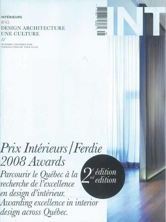 Intérieurs - Dec 2008