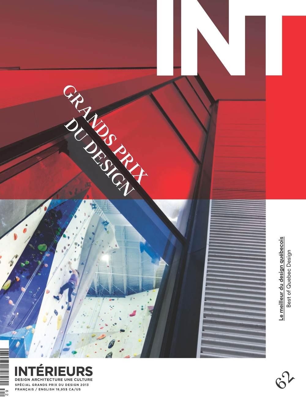 Magazine Intérieurs - Spécial Grands prix du design 2013