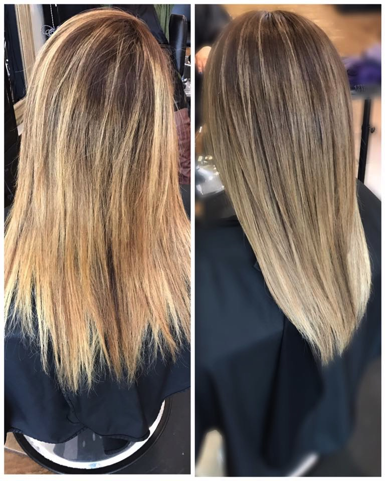 Fernando Navarro @ Luxe Salon Pasco    No Inhibition smoothing treatment     Milkshake silver shine shampoo