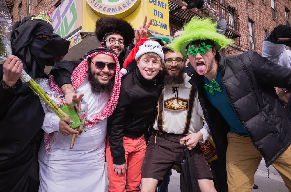 Purim 2014 in Crown Heights