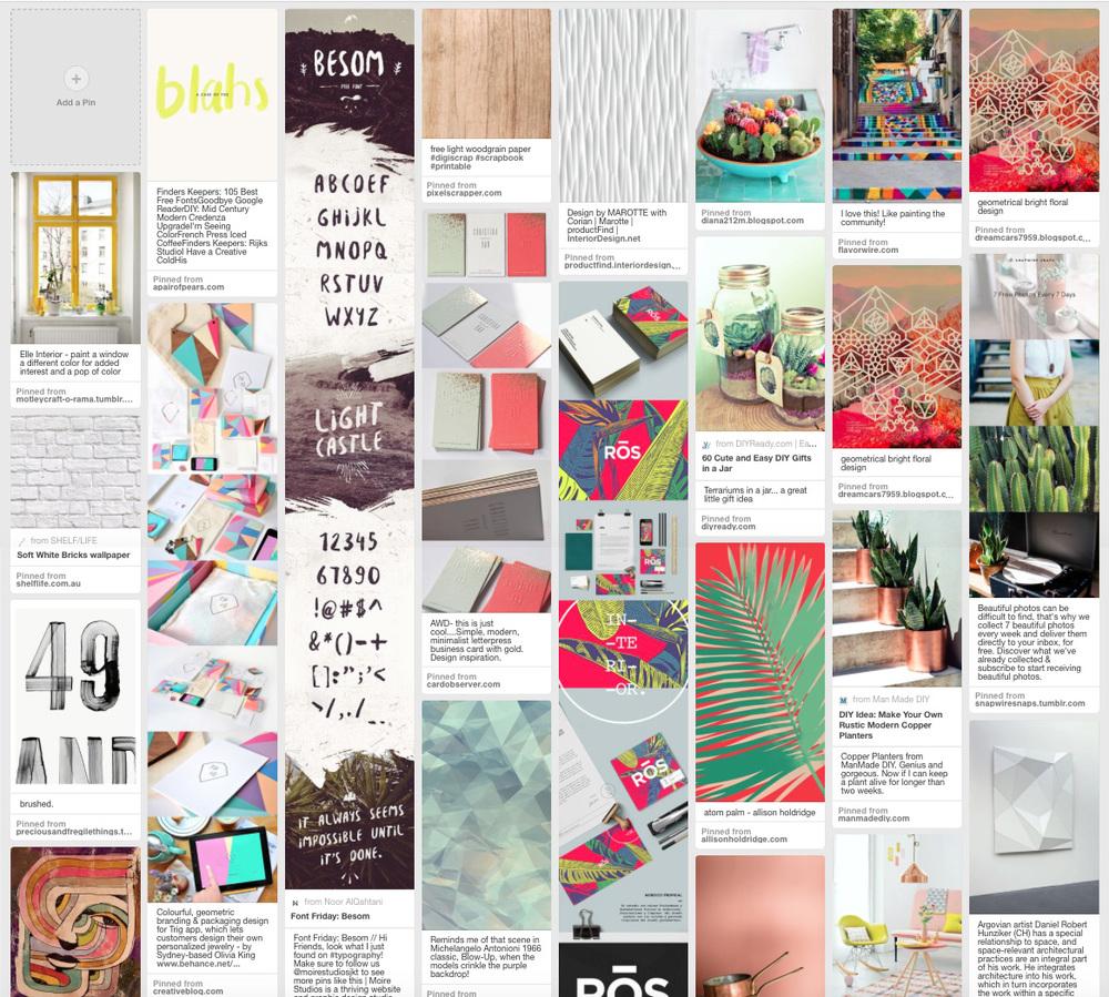 Audrey Ski Creative Pinterest Board