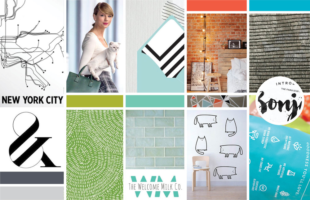 Seeka Designs Inspiration Board