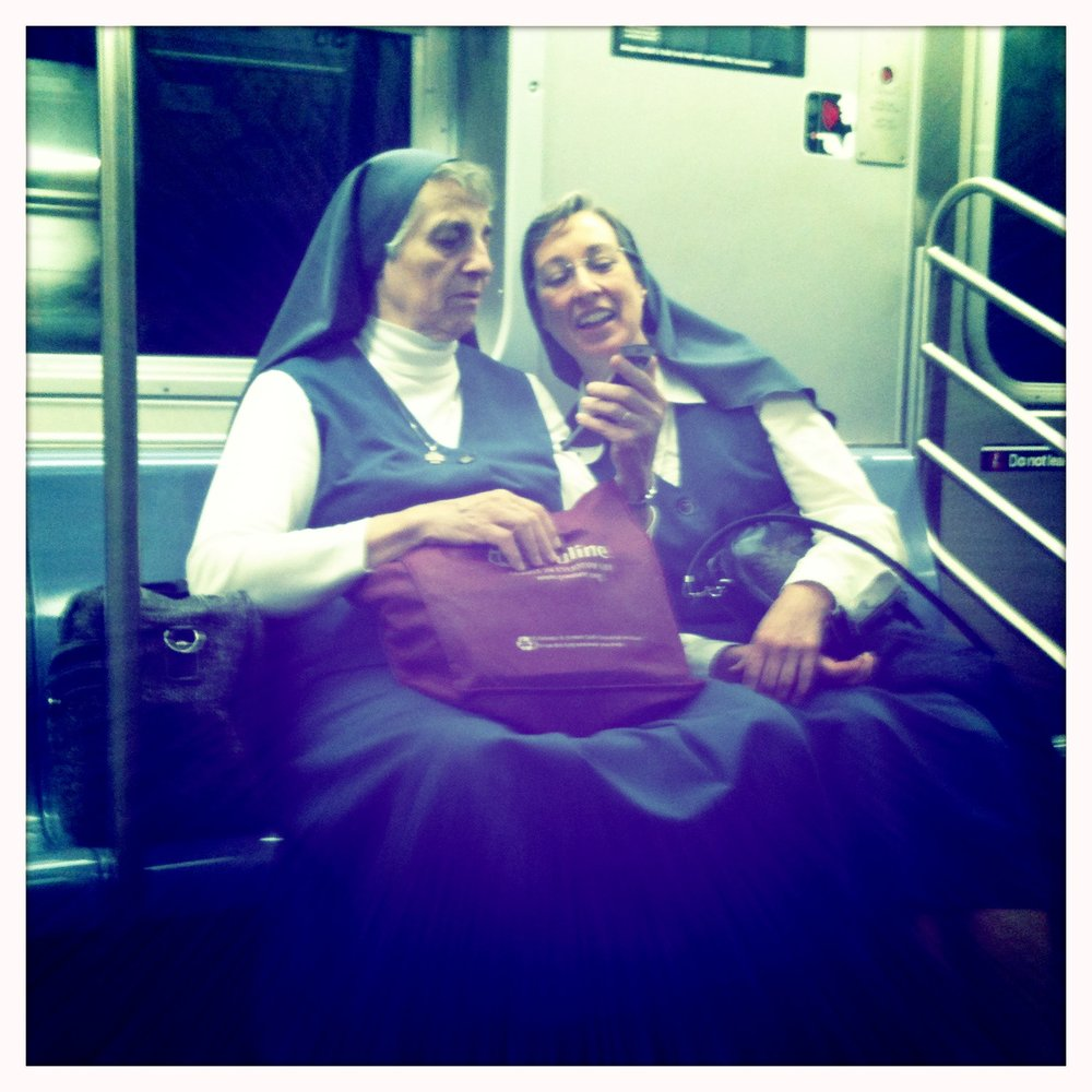 Apple, help me find my nuns on a subway