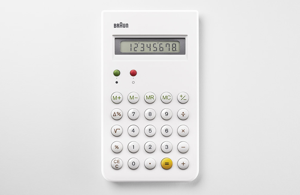 ET66 calculator: so beautiful, it encourages use