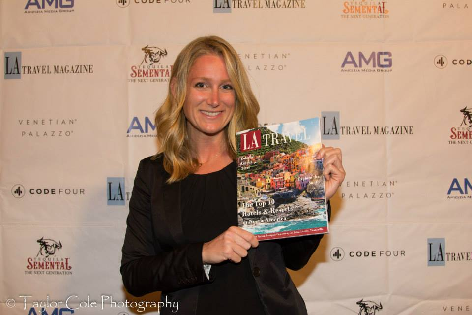 At the Spring Issue Launch party for LA Travel Magazine at Ebanos Crossing on April 24th, 2014!