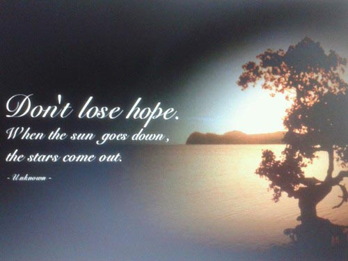 dont lose hope motivational quotesjpg