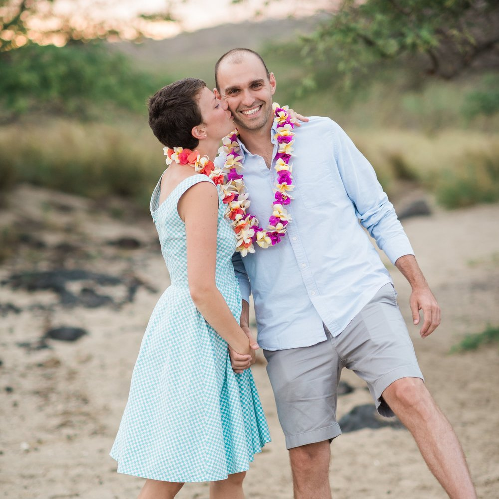 Sweet Elopement in Hawaii