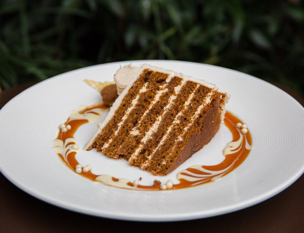 Maple Gingerbread Cake
