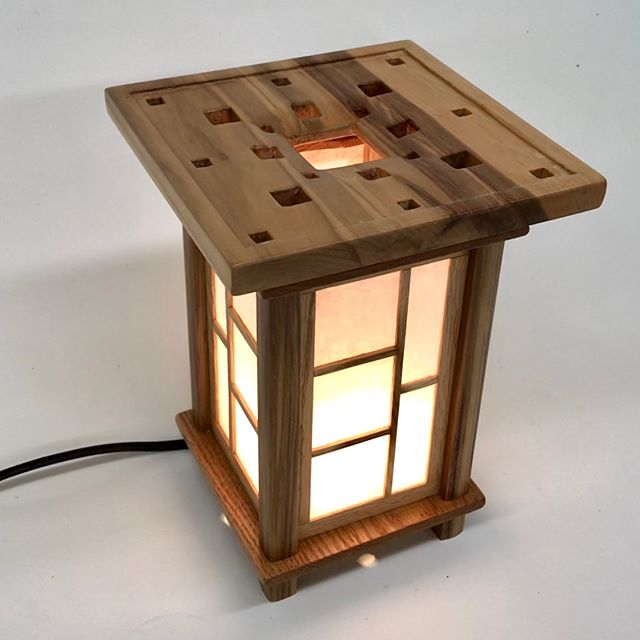 Lantern 2.6 - Squares. Finished and available for sale.