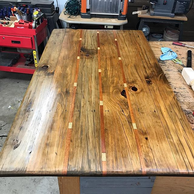 Redoing a table top from a few years ago. I need to find a new home for it when done.