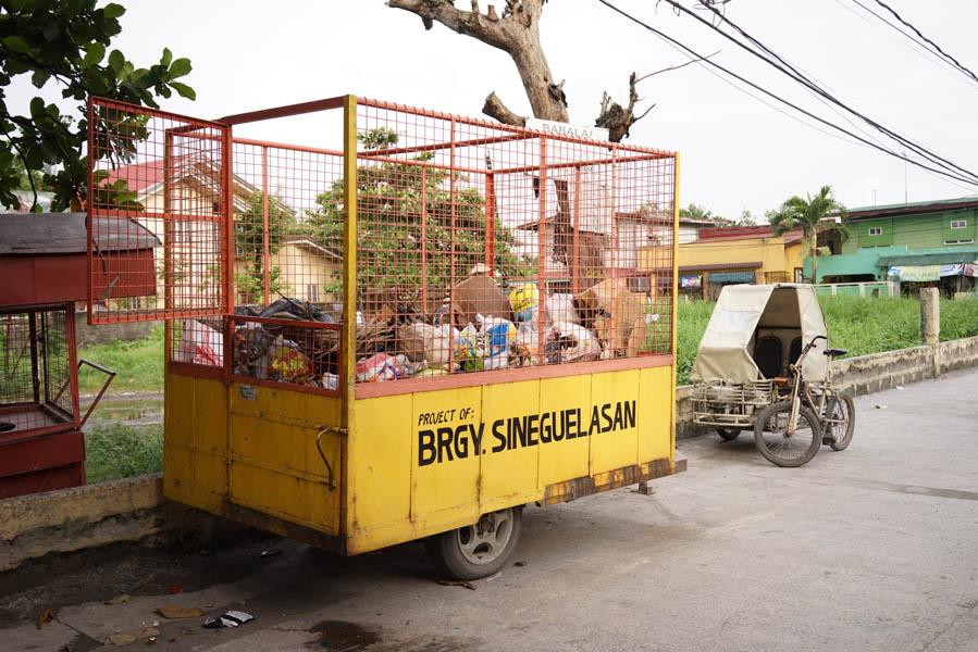 Trash Bin #1, 2016