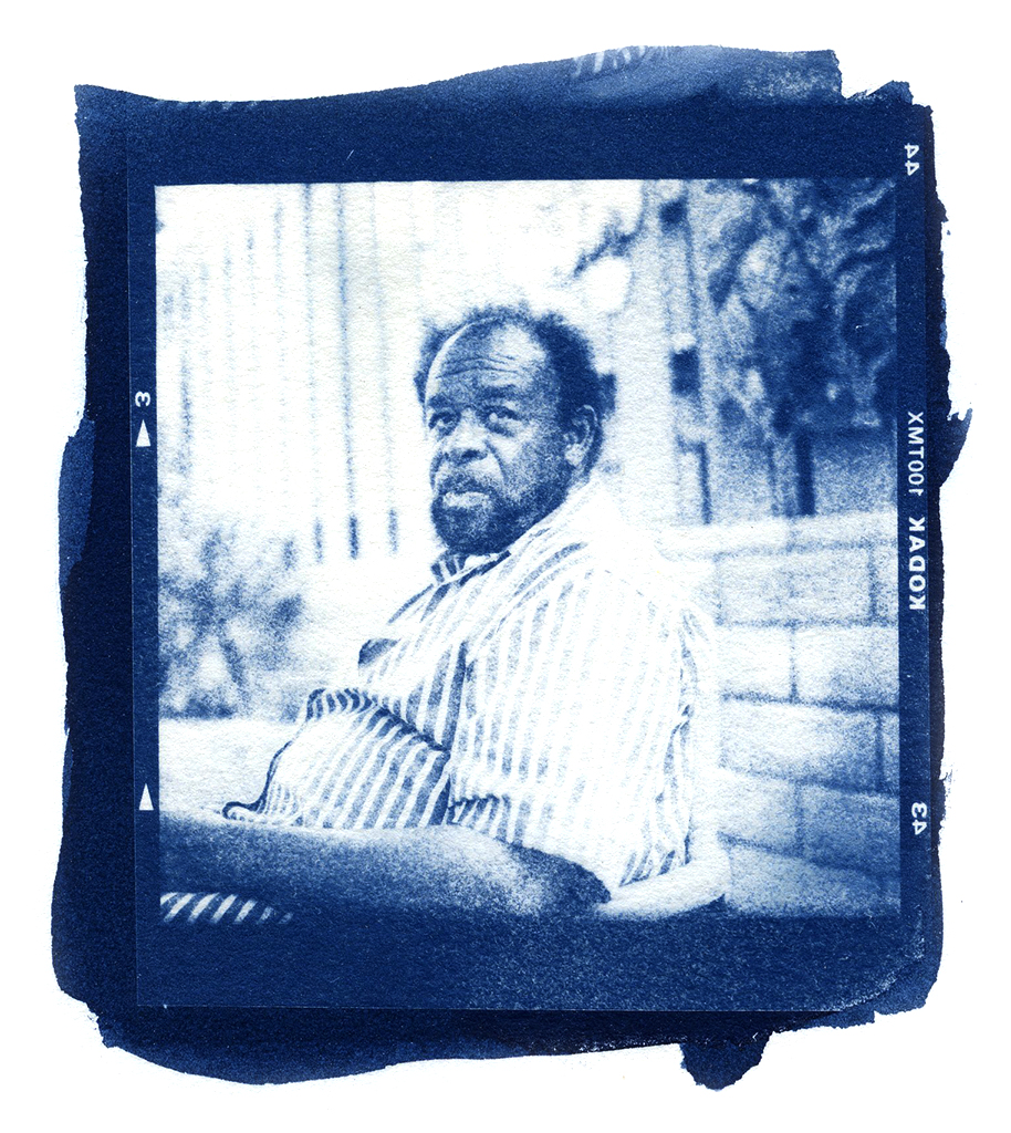 TOM WHITE, MIRACOSTA COLLEGE, CYANOTYPE, 2014