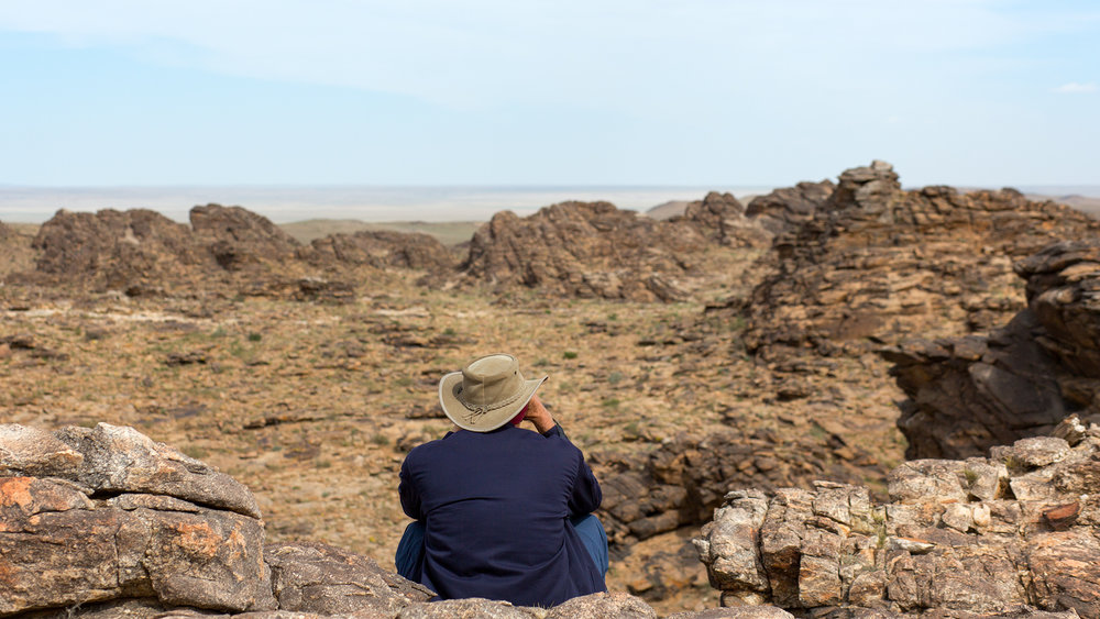 Watching for Ibex and Argali Sheep