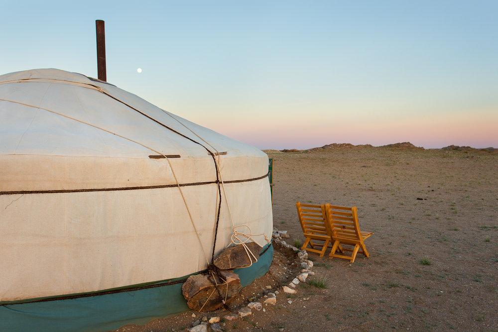 OUTER MONGOLIA - IKH NART NATURE RESERVE, GOBI DESERT