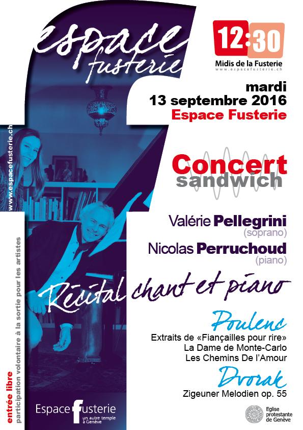 Récital Piano Chant Genève Fusterie