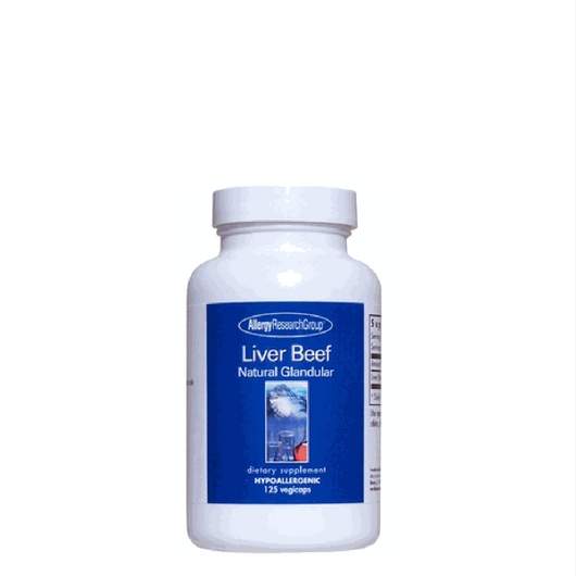 Liver Beef 1000 mg 125 vcaps