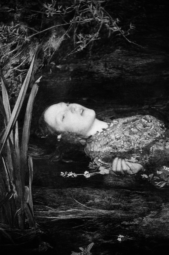 """Ophelia"" by John Everett Millais, Tate Britain, London, 2015"