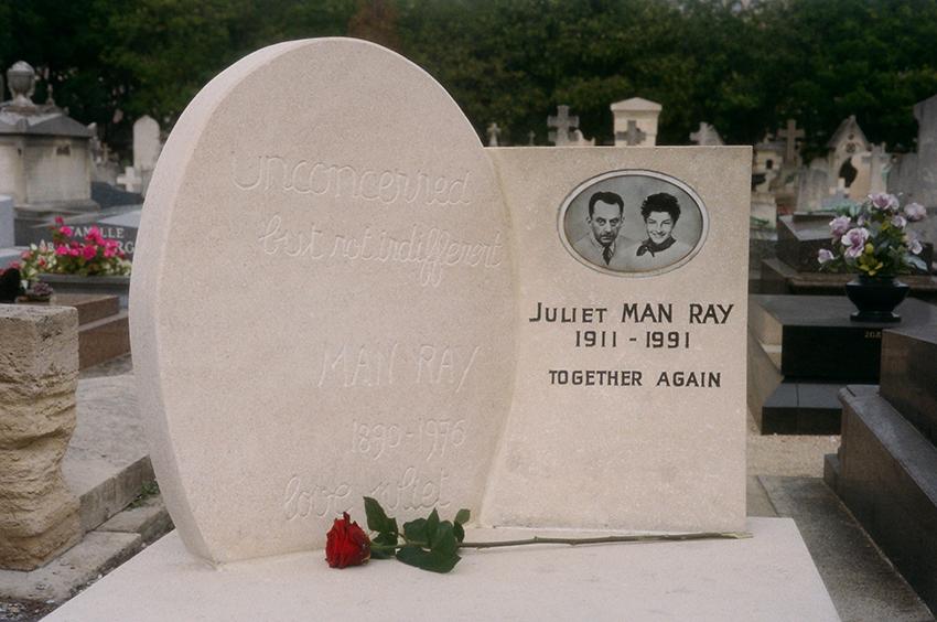 Man Ray & Juliet, Montparnasse, 2013
