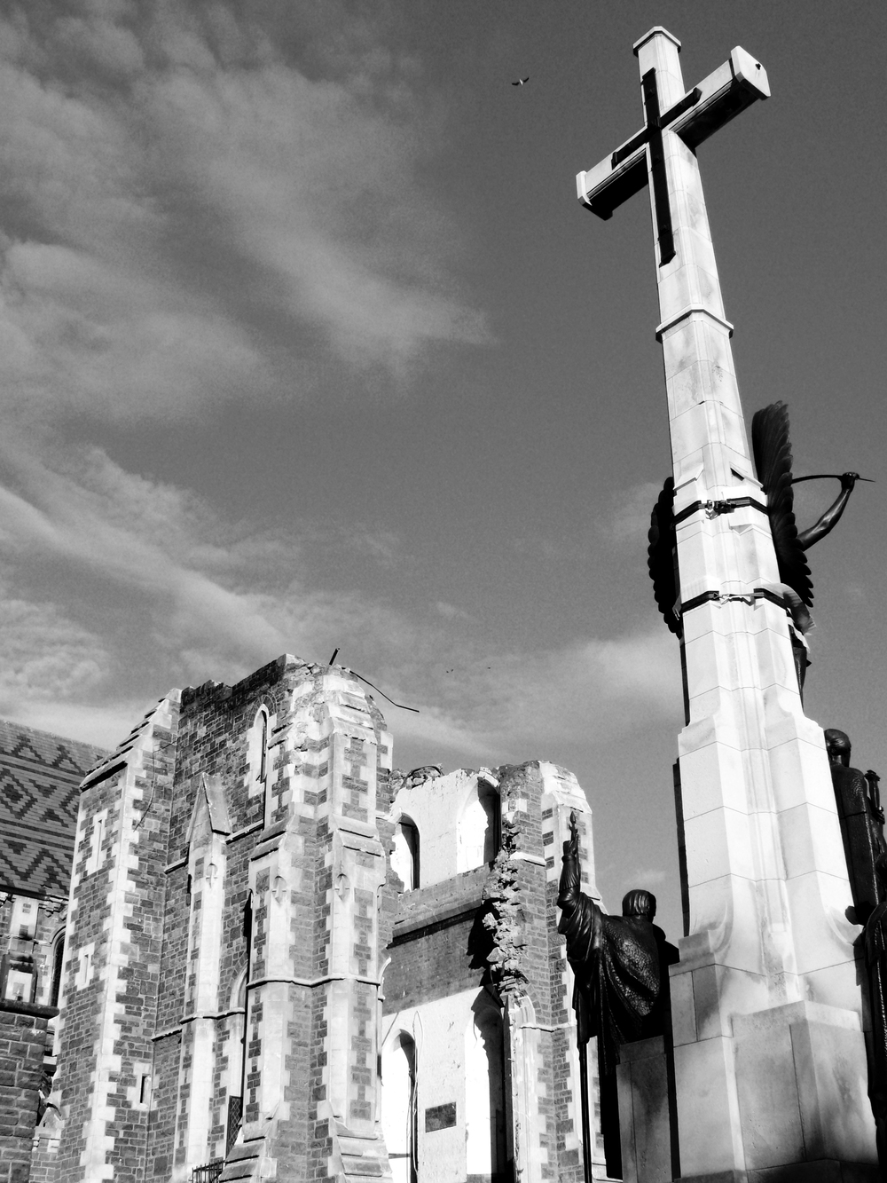 Christchurch Cathedral, 2011