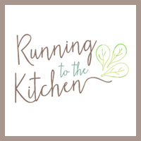 running to the kitchen