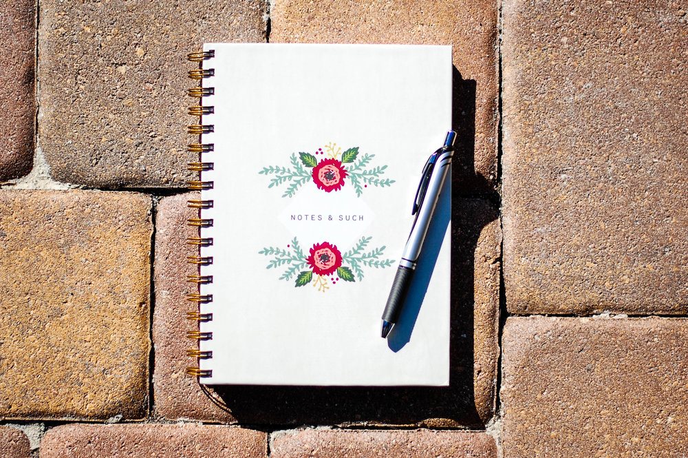 FLORAL Hard Cover Journal | $25