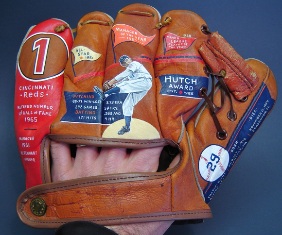 Baseball Glove featuring Fred Hutchinson