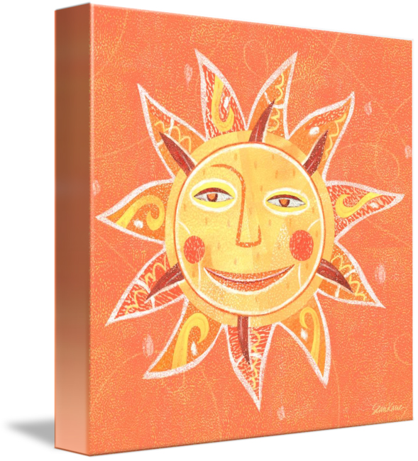 CBS Sunday Morning Sun Art for Sale - Purchase Canvas Print >
