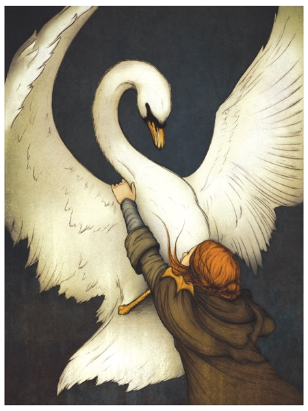 The Swan's Wings Beat