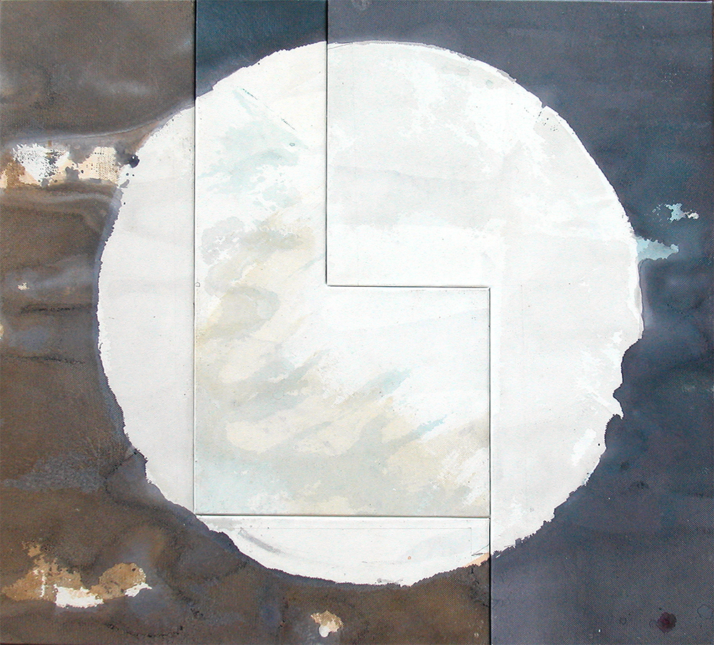 Tondo (Moon) 3 Panels CC2, 2004