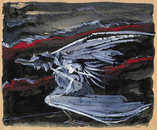 Morris Graves – Wounded Gull, 1943