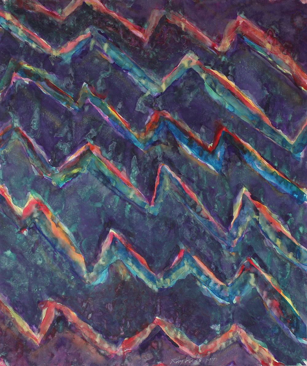 Sea Wave Patterns, CA, 1971