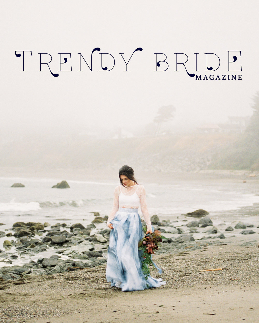 Katlyn Marie Photo Art Trendy Bride Magazine | Winter/Spring 2017