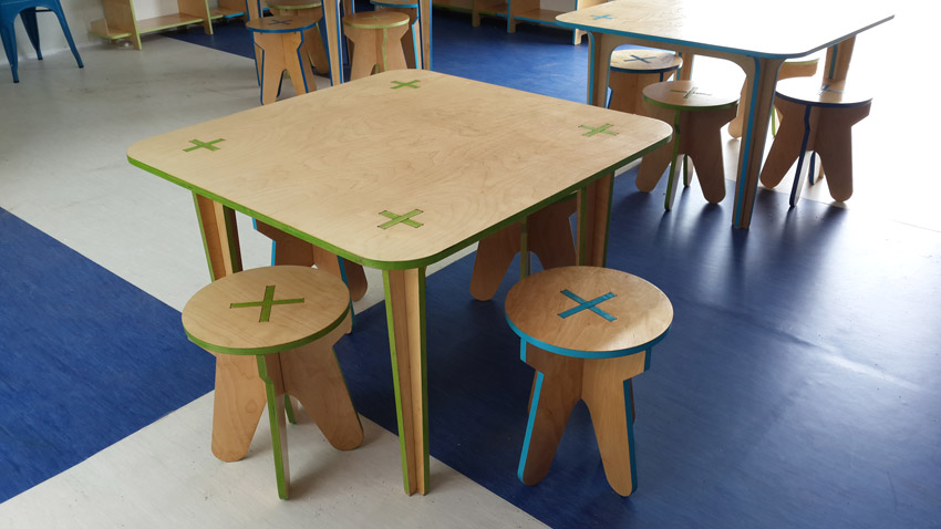 KIDS tables & stools