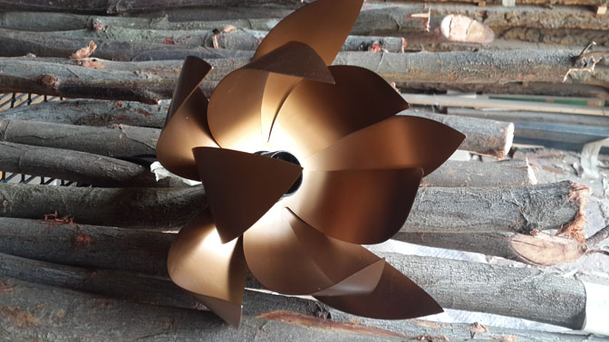 Dark Bronze lamp holder