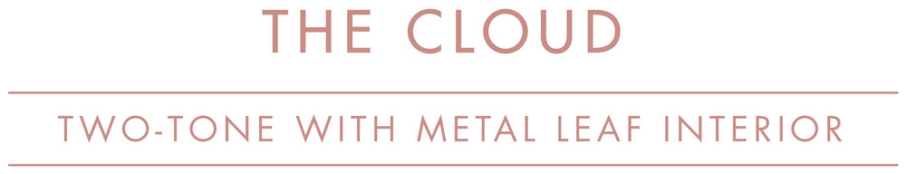 CLOUD metal leaf