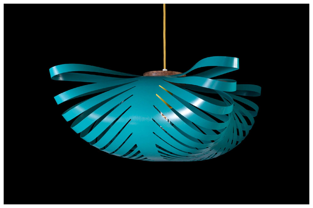 Small CLOUD lamp in Rich Teal