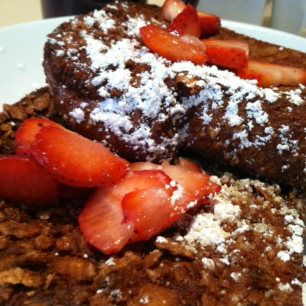 One last look at that Crunchy French Toast deliciousness...