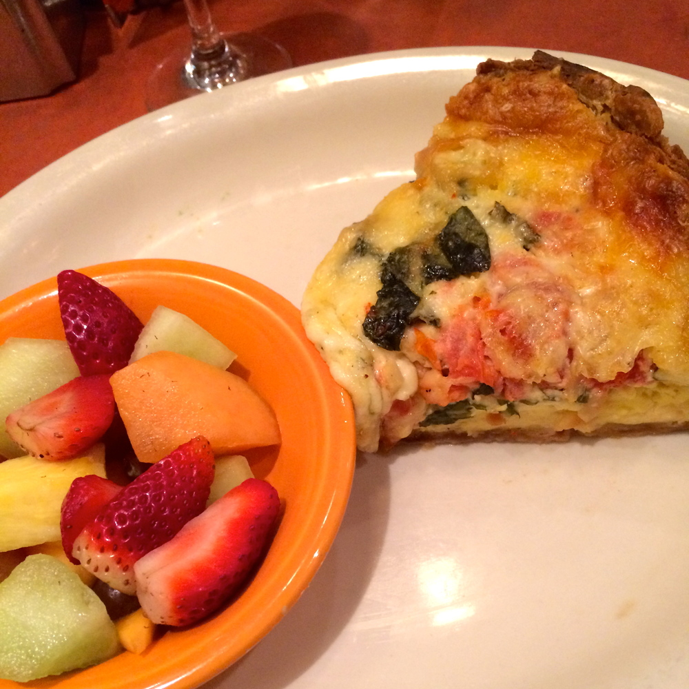 I already want it again. Paulie's Quiche for the win.